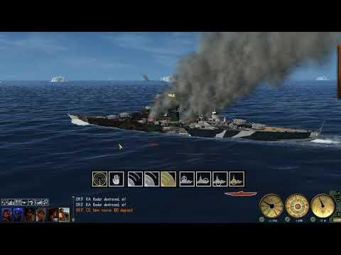 Battle of the Denmark Strait as The Tirpitz GWX