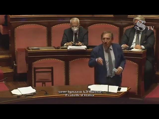 FdI Parlamento - L'intervento del Sen. La Russa sulla proroga dello stato di emergenza