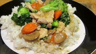 Chicken And Broccoli - Healthy Chinese Chicken And Broccoli No Oil