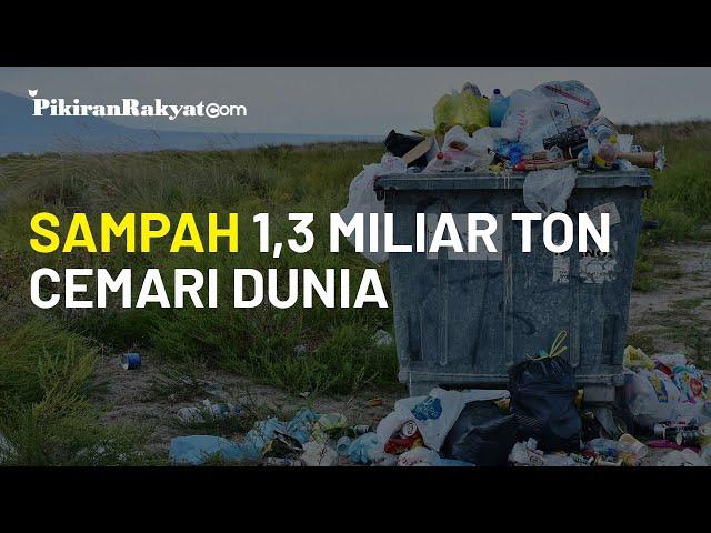 Studi: Sampah Plastik Sebanyak 1,3 Miliar Ton akan Cemari Tanah dan Laut di Tahun 2040