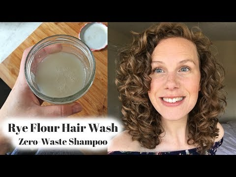 rye-flour-hair-wash---zero-waste-&-curly-girl-friendly-shampoo