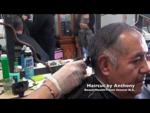 Men's haircut: Scissors and clippers at Professional Schools of Beauty, Fashion and Arts