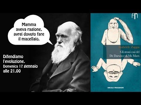 """LIVE - Recensione de """"Gli strani casi del dr. Darwin e di mr. Marx"""" di Gabriele Zuppa"""