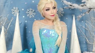 Disney's Frozen Elsa Makeup Tutorial Thumbnail