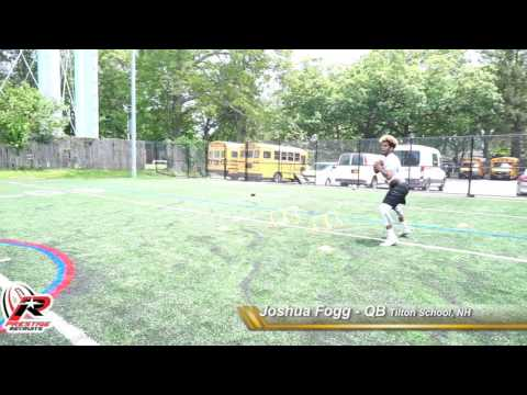 "Joshua Fogg QB - Tilton Prep (2017-18"") Prestige Recruits Skill Tape 6/25/17"