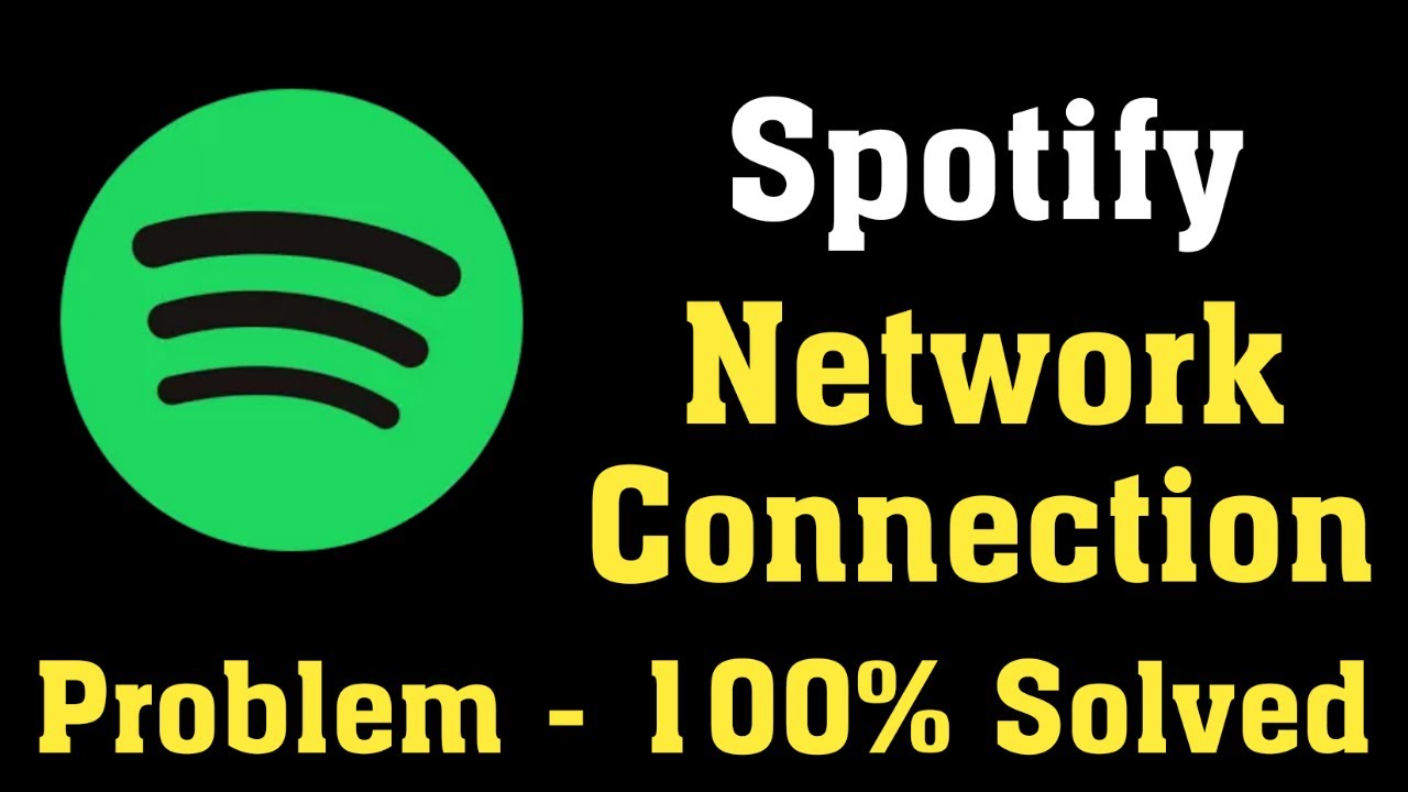 How To Fix Spotify App Network Connection Problem Windows 10 8 7 Spotify App Internet Error Youtube