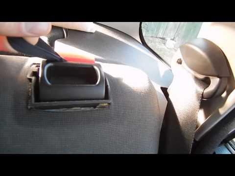 Поломка и ремонт кнопки задней откидной спинки Форд Фьюжен