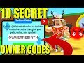10 SECRET OWNER REBIRTH CODES IN BLOB SIMULATOR Roblox mp3