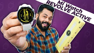 """Mi Watch Revolve Active Unboxing And First Impressions ⚡ 1.39"""" AMOLED, 14 Days Battery, SpO2 & More"""