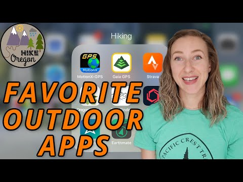 My Favorite Outdoor Apps