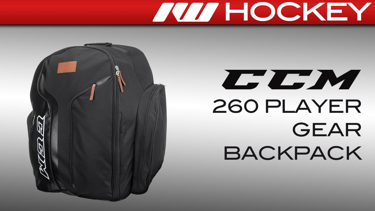 3af7bbc10a0 CCM 260 Player Backpack Review - YouTube
