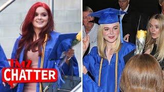 Ariel Winter & Elle Fanning Graduate High School | TMZ