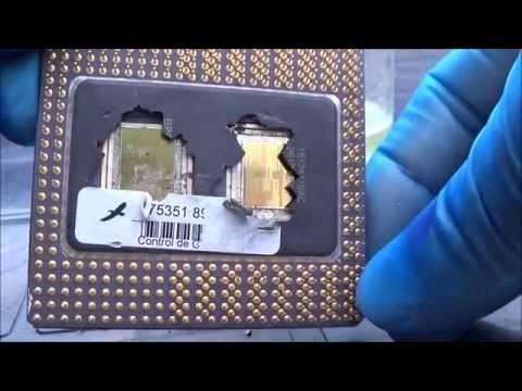 Recuperando el ORO de un procesador pentium PRO.