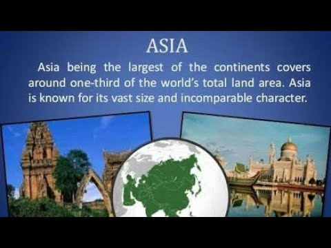 Intersting Facts about Asia continent in hindi | Major facts about Asia for kids