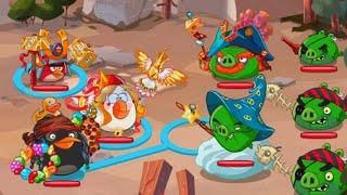 Angry Birds Epic (Hard Mode) Boss Battle  [Super Villains of Piggy Island]