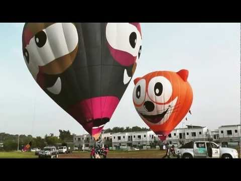 Hot Air Balloon @ Putrajaya - Music Video