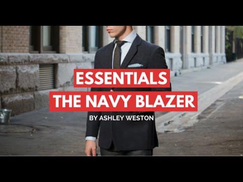 The Navy Blazer/Sport Coat - Men's Wardrobe Essentials