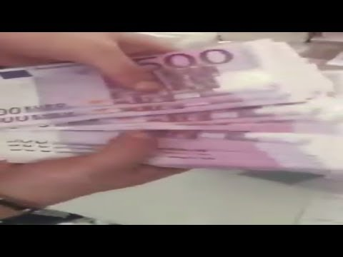 500 Lük Euro Ve Sayımı Tam Tamına 22 Milyon