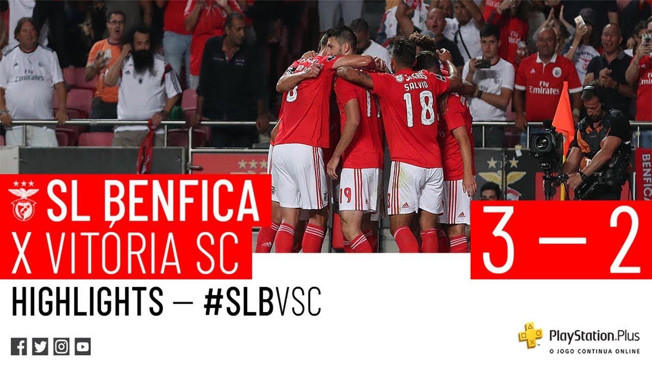 Resumo Benfica: RESUMO: SL Benfica X Vitória SC