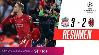 ¡PARTIDAZO Y VICTORIA PARA LOS REDS ANTE EL ROSSONERO! | Liverpool 3-2 Milan | RESUMEN