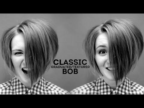 How To Cut Classic Graduated Bob Haircut