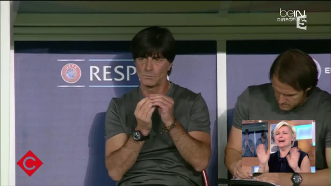 L'Allemagne, pris la main dans le sac - C à vous - 13/06/2016