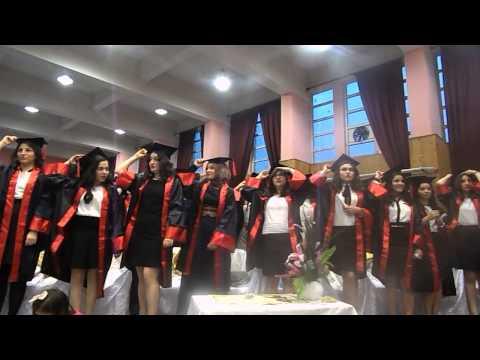 Bulancak Kız Meslek Lisesi 2014 mezuniyet Kep atma töreni
