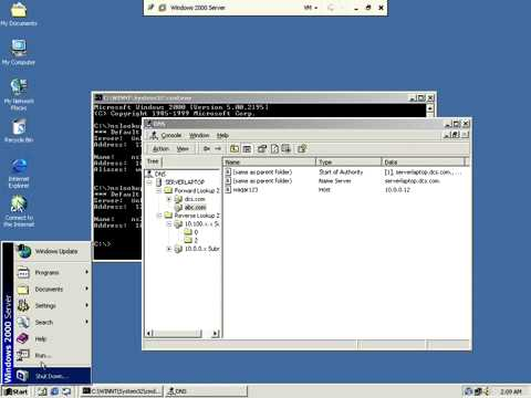 Configure of DNS in Windows 2000 server YouTube:freedownloadl.com  operating systems, consol, free, classic, download, server, advanc, card, microsoft, network, dn, window, servic, v2, internet, auto