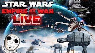 Star Wars: Empire at War 🔴 Reinkommen in Galaxis Eroberung! // PC Livestream