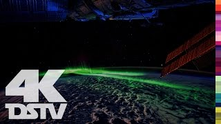 EARTH'S NORTHERN LIGHTS FROM SPACE | 4K ULTRA HD SPACE VIDEO
