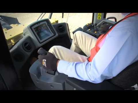 Cat® K Series Wheel Loaders | Joystick Features and Benefits
