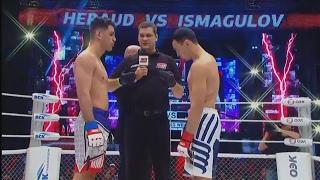 Морган Эру vs Дамир Исмагулов, M-1 Challenge 74