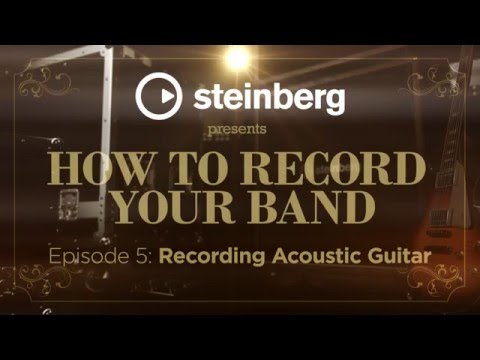 How to record your band, part 5: recording acoustic guitars in a live band