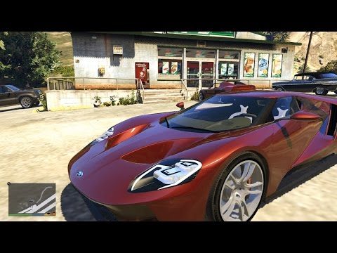 Gta V Ford Gt Add On Replace
