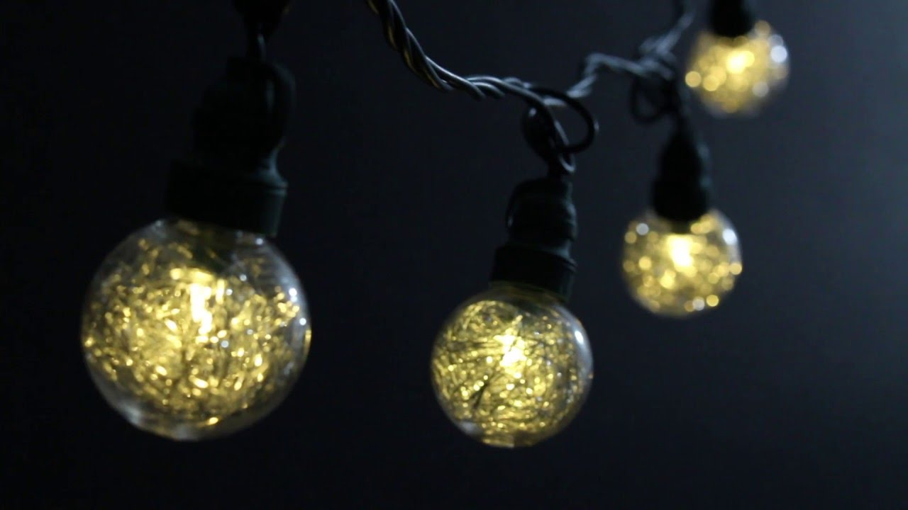 Led String Lights Stopped Working : LED Tinsel Orb Light String by American Lighting - YouTube