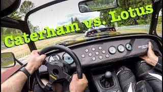 Caterham 485S & Lotus Exige V6