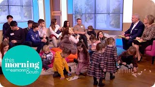 Britain's Biggest Family Welcomes Their 20th Child! | This Morning thumbnail