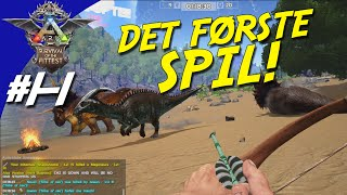 ARK Survival Of The Fittest Dansk - Ep 1 - DET FØRSTE SPIL!