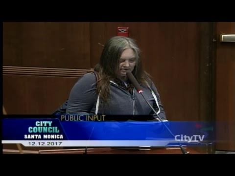 City Council Meeting December 12, 2017