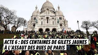 Acte 6 : des centaines de Gilets jaunes à l'assaut des rues de Paris