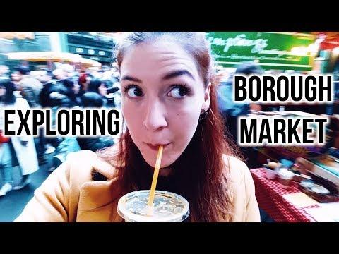 Exploring Borough Market | London Vlog #germangirlinlondon