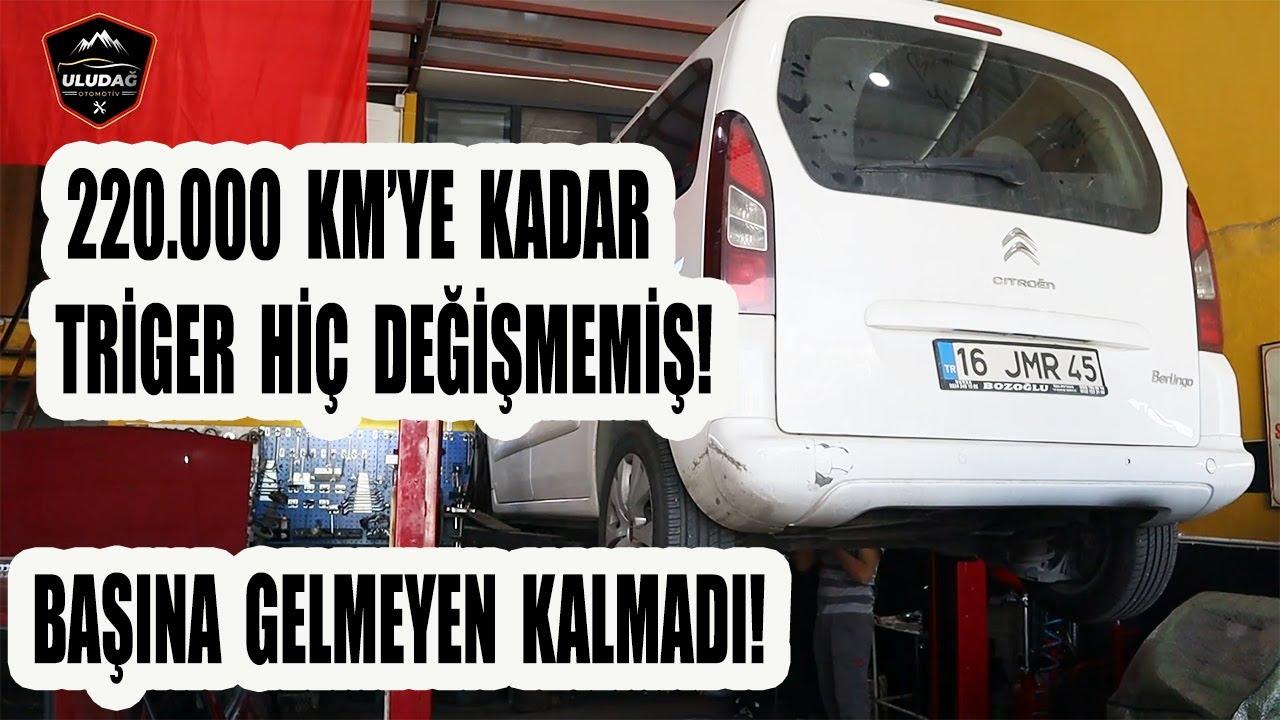 TRİGER KAYIŞI KOPAN ARACIN HAZİN SONU!! (Cıtroen Berlingo)