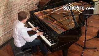 How to Record Grand Piano - Cardioid vs. Omni Microphones (Miktek C5)