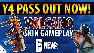 Y4 Pass OUT NOW! - Volcano Skin Gameplay - 6News - Tom Clancy