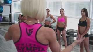 Эксклюзивное видео: уроки позирования от Ольги Везмятиновой!