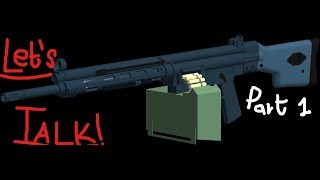 TALK TO MY HK21!!! ll Phantom Forces ROBLOX ll Part 1