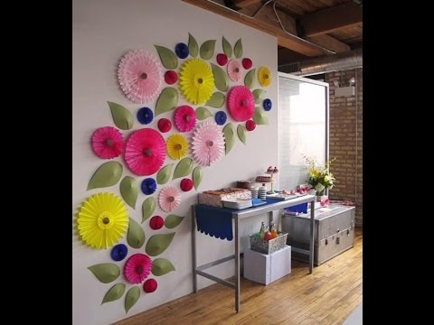 100 ideas para decorar tus paredes divertidas clasicas y originales youtube - Ideas originales para decorar paredes ...