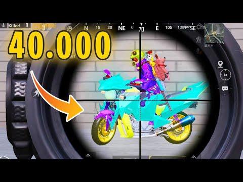 Spending 40.000 UC To MAX NEW Phantom Bike | PUBG Mobile