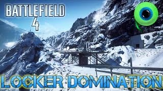 Battlefield 4 Multiplayer | DOMINATING ON OPERATION LOCKER (PC Gameplay)