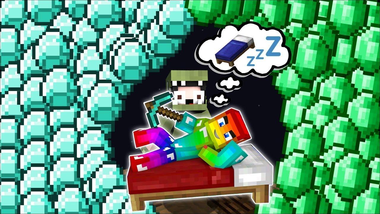 Minecraft, Đừng Ngủ Cả Ngày Vì Bạn Có Thể Gặp Giấc Mơ Siêu Vip!